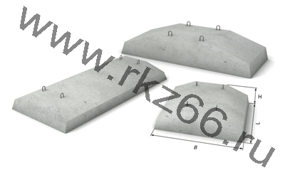 Плиты для фундамента, фундаментные плиты