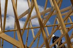 США увеличило строительство домов