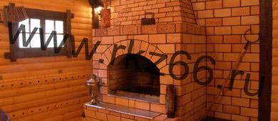 Кирпич для печей каминов, цоколя отгружен в Челябинск и Пермь