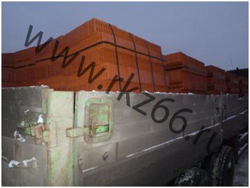 Кирпич строительный М 125 отгружен в г. Березники и г. Кунгур