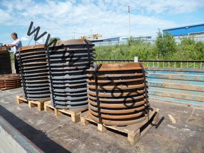 Отгружены люки чугунные легкие и тяжелые ГОСТ 3634-99 в города Екатеринбург и Нижний Тагил