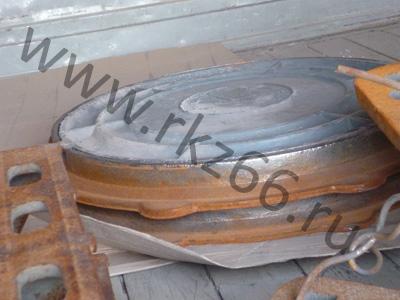 Люки чугунные легкий тип «Л» по ГОСТ 3634-99 отгружены в Дегтярск, Полевской, Сысерть