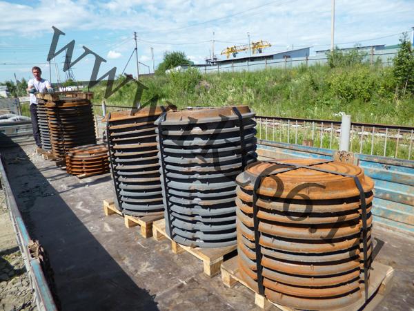 Люк канализационный тяжёлый ГОСТ 3634-99