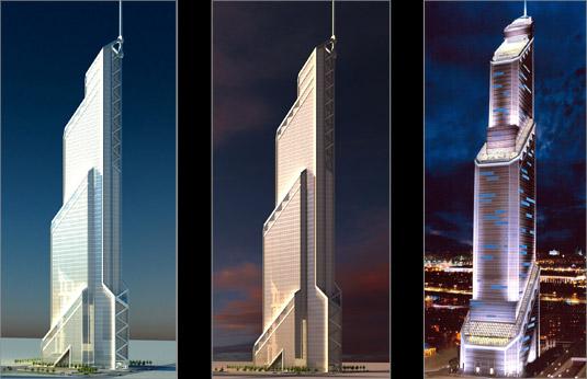 Меркурий Сити - самое высокое здание Европы
